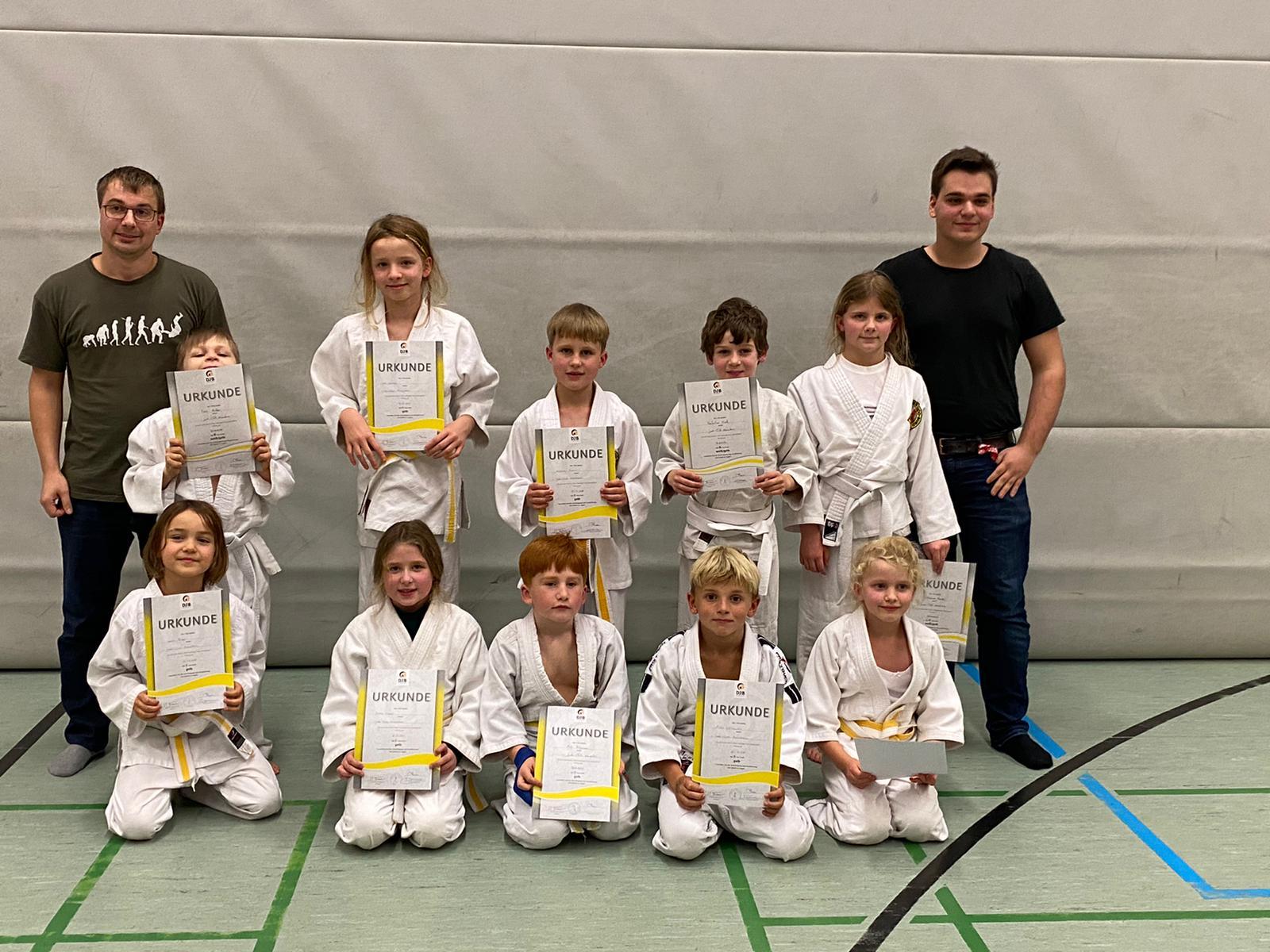 Read more about the article Vorgezogene Gürtelprüfung