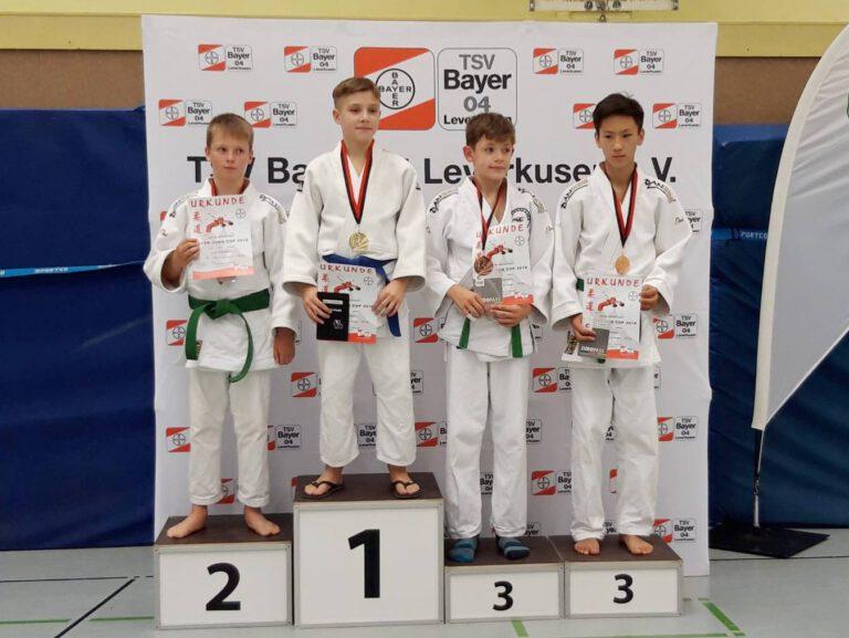 Bayer-Cup brachte Edelmetall für unsere Judoka