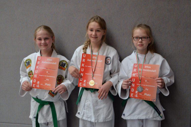 Stadtmeisterschaft Meerbusch zeigte gutes Judo