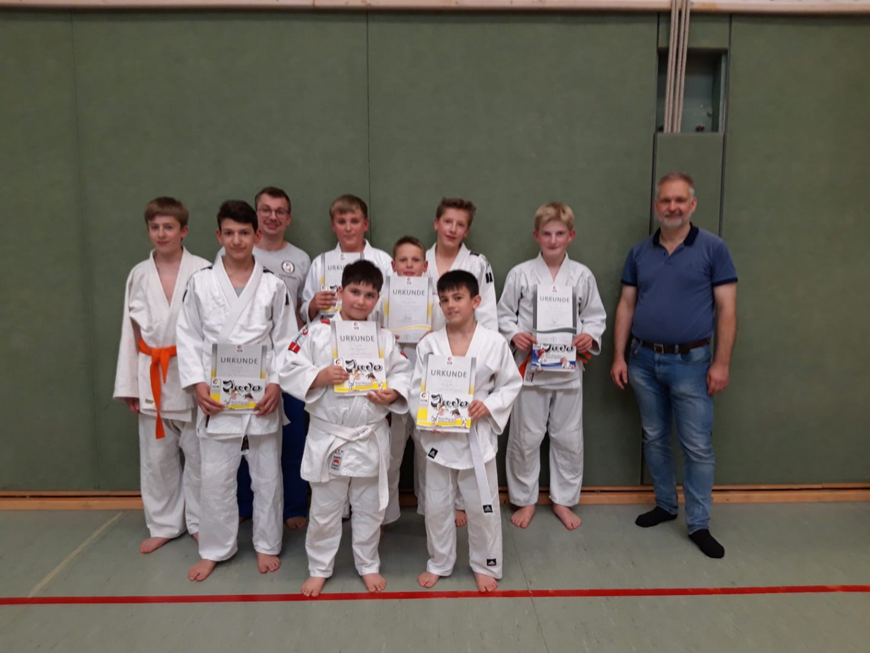 Read more about the article Gürtelprüfung beim JC
