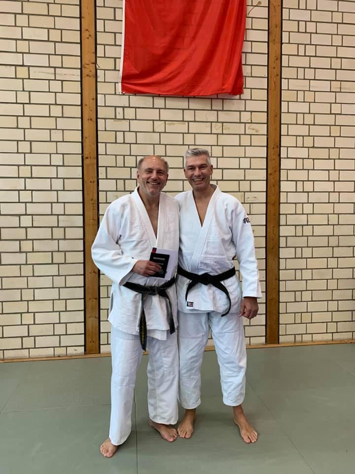 Frank Beyersdorf nun mit dem 4. Dan