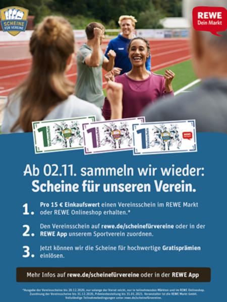Read more about the article Helft uns und sammelt Vereinsscheine!