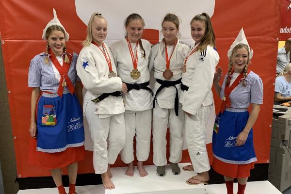 Samstag Bronze, Sonntag Gold für Leonie Beyersdorf
