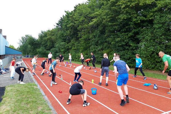 Read more about the article Gemeinsames Training startet wieder!