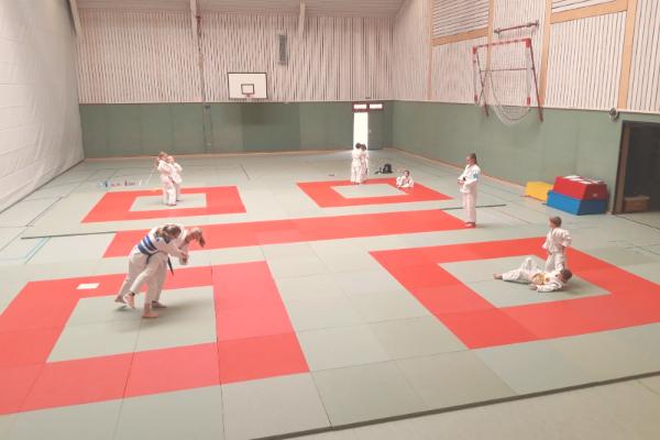 Endlich wieder Judo!