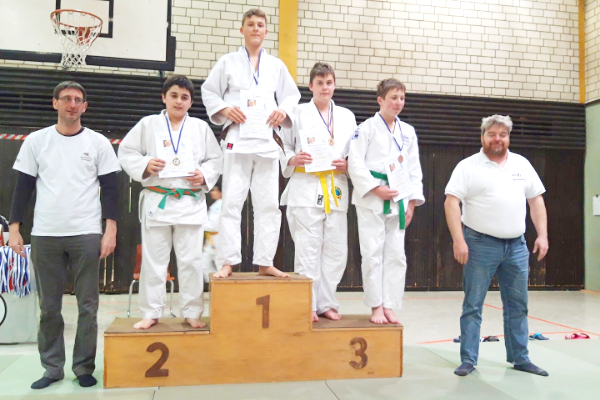 1. Platz für Elias beim Willi-Lang Turnier