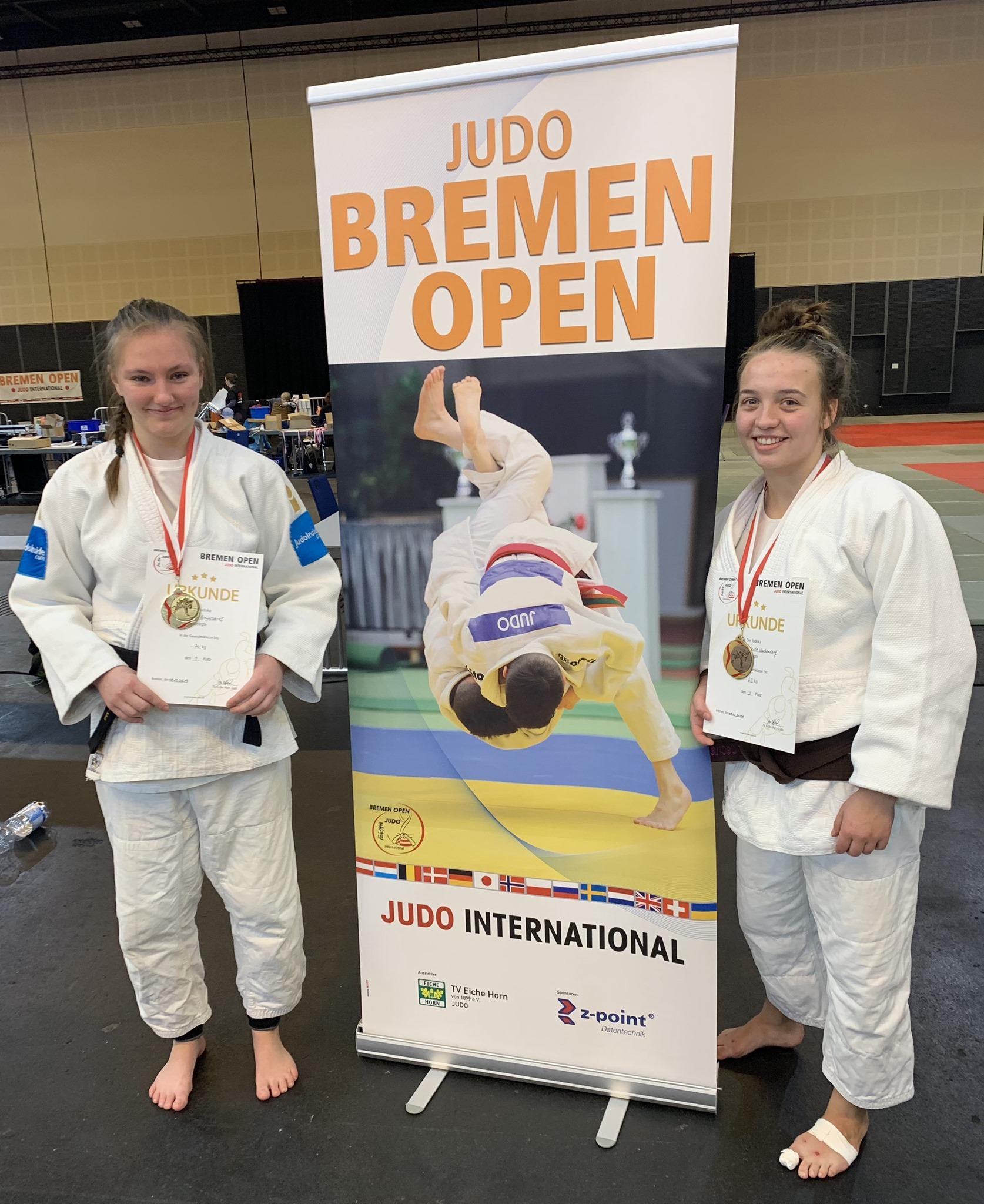 Read more about the article Gold und Bronze auf den Bremen Open bei den Frauen!