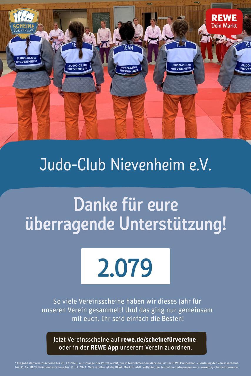 Read more about the article Wir sagen 2.079 mal DANKESCHÖN !