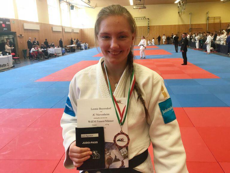 Leonie Beyersdorf für DM qualifiziert