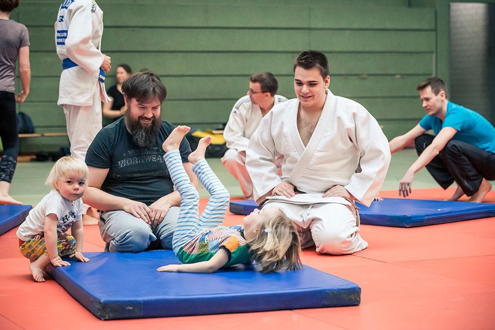 Read more about the article Angebotserweiterung: Eltern / Kind-Judo ab März